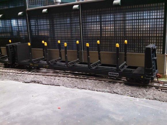 MPL 8900 log bunk flat